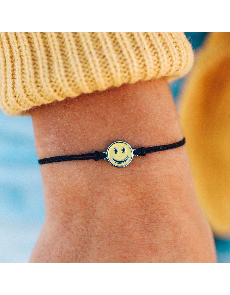 Pura Vida Bracelets Happy Face Charm Bracelet