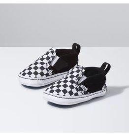 Vans Infant Checker Slip-On V Crib Shoe