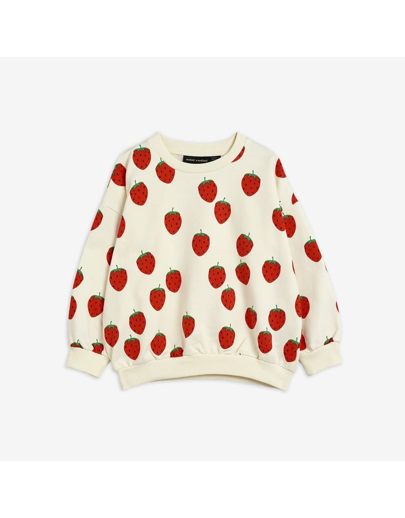 MiniRodini Strawberry Sweatshirt