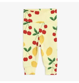 MiniRodini Cherry Lemonade Newborn Leggings