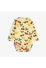 MiniRodini Cherry Lemonade Long Sleeve Body