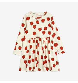MiniRodini Strawberry Long Sleeve Dress