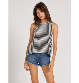 VOLCOM What She Said Striped Tank