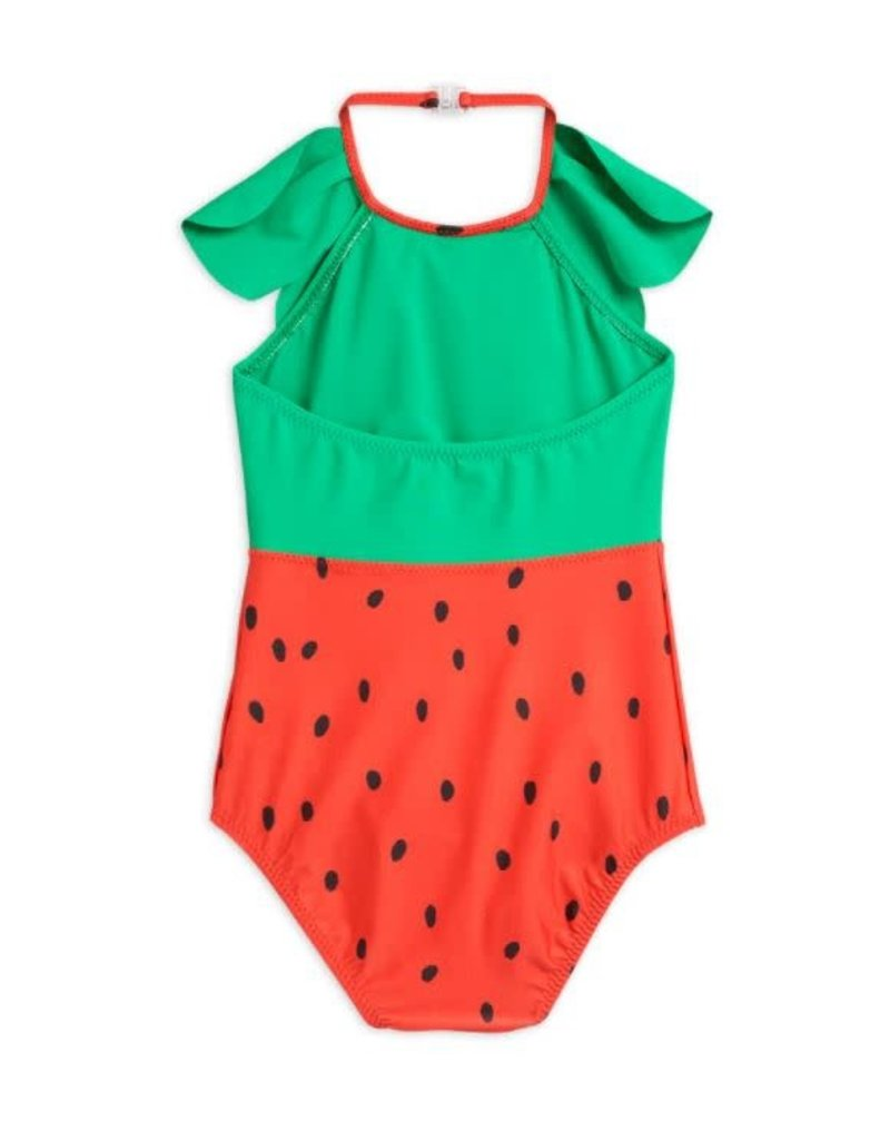 MiniRodini Strawberry Swimsuit