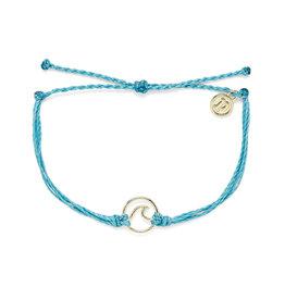 Pura Vida Bracelets Gold Wave Bracelet