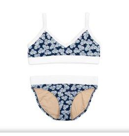 Shade Critters Ribbed Trim Daisy Bikini