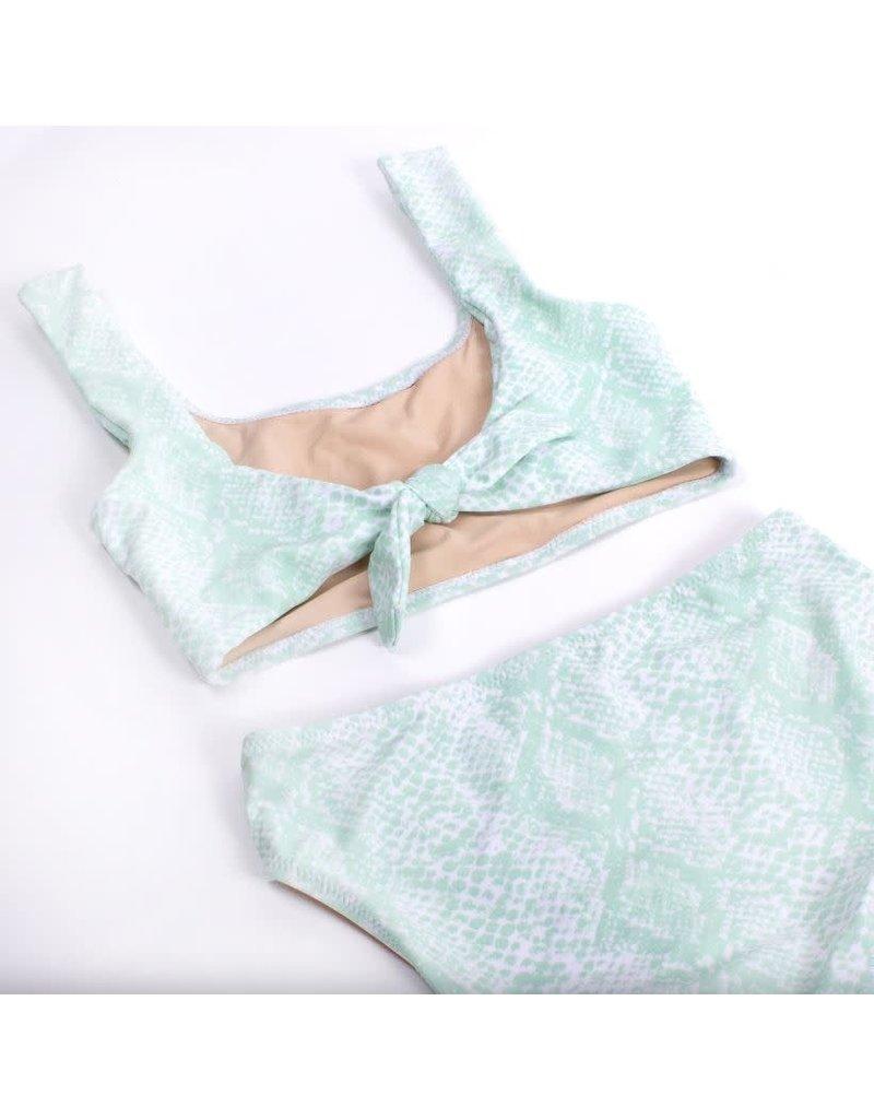Shade Critters Python Tie Back Bikini