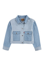 Levis Big Girls Cropped Utility Trucker Jacket