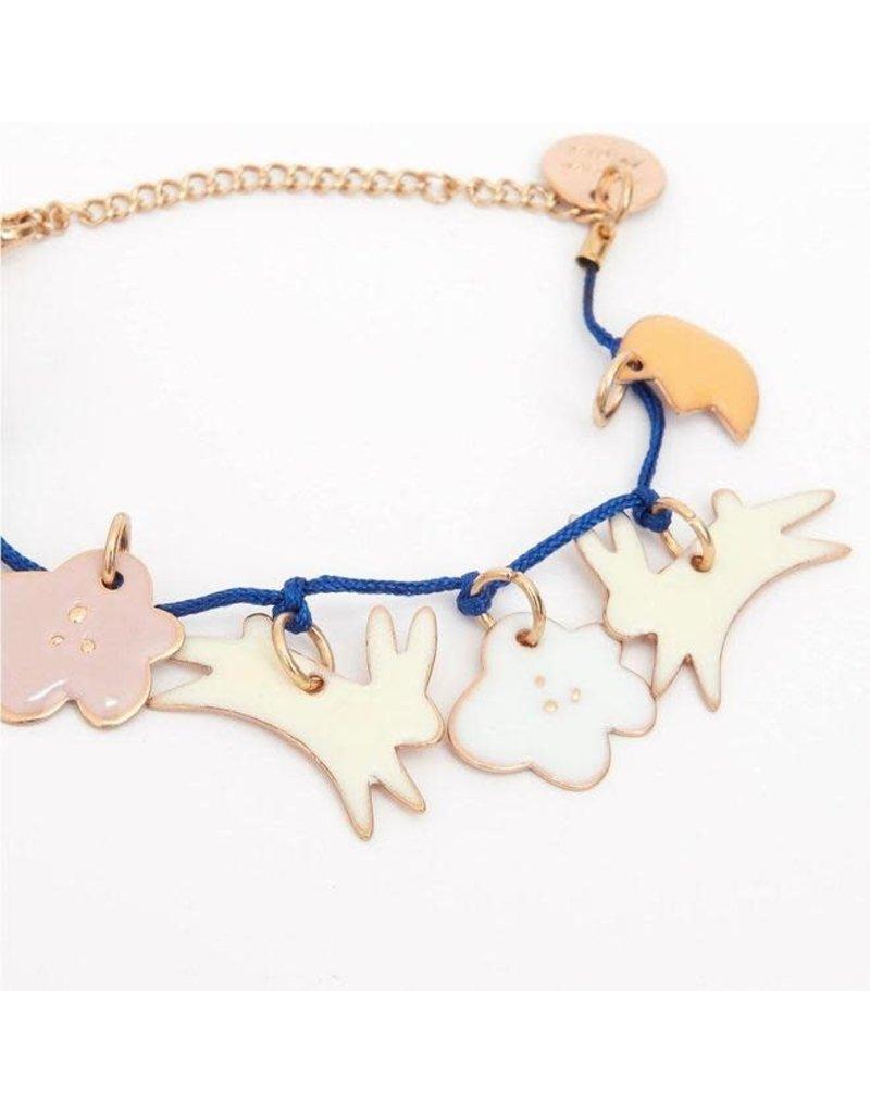 Meri Meri Bunny Enamel Bracelet