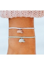 Pura Vida Bracelets Hedgehog Charm Bracelet