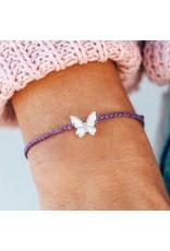 Pura Vida Bracelets Butterfly In Flight Charm Bracelet
