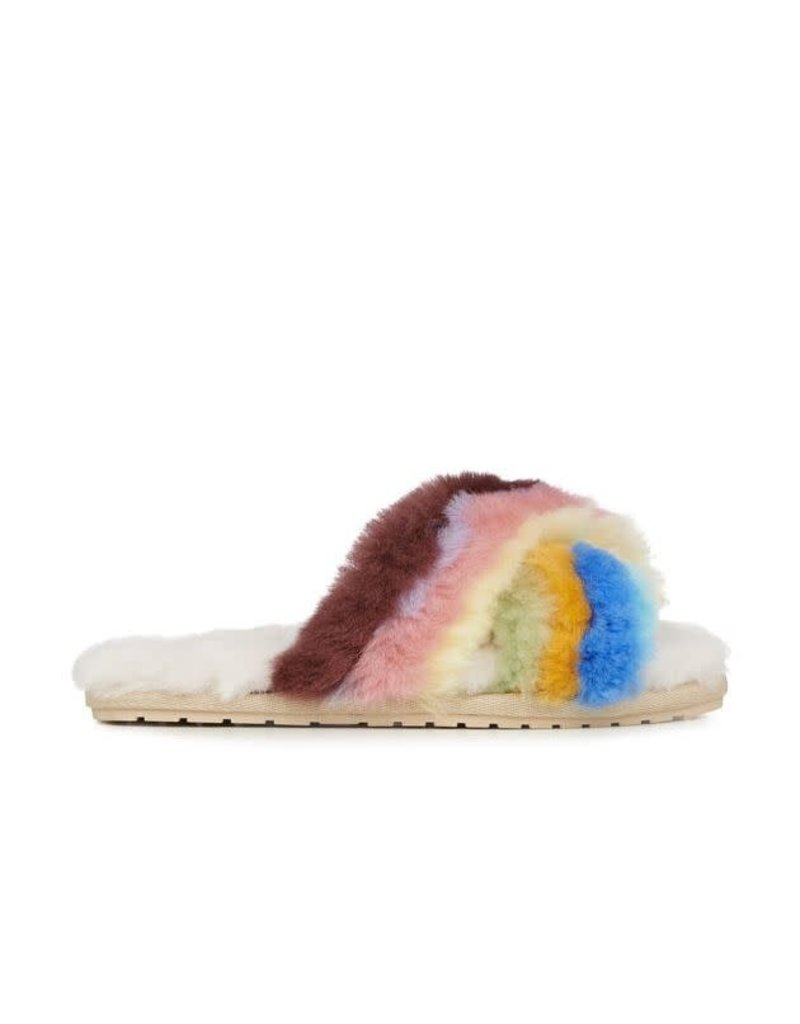 EMU Australia Mayberry Rainbow Teens Slipper