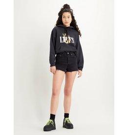 Levis Womens Ribcage Denim Shorts