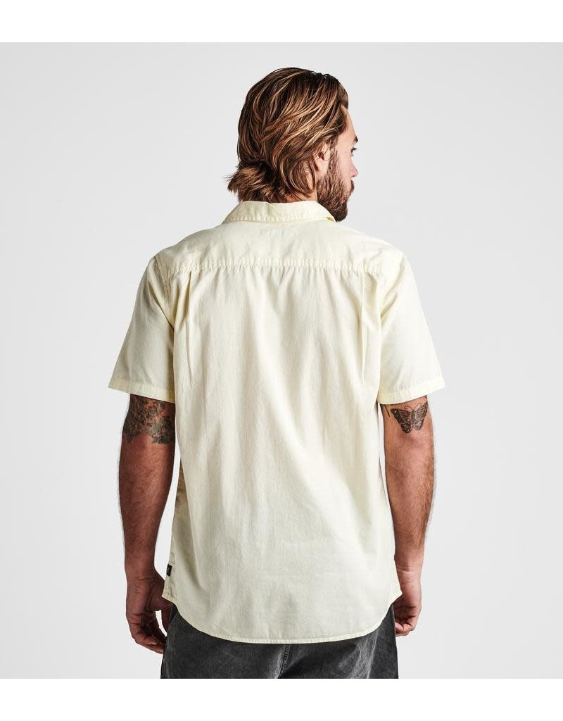 Roark Well Worn Organic Cotton Button Up Shirt