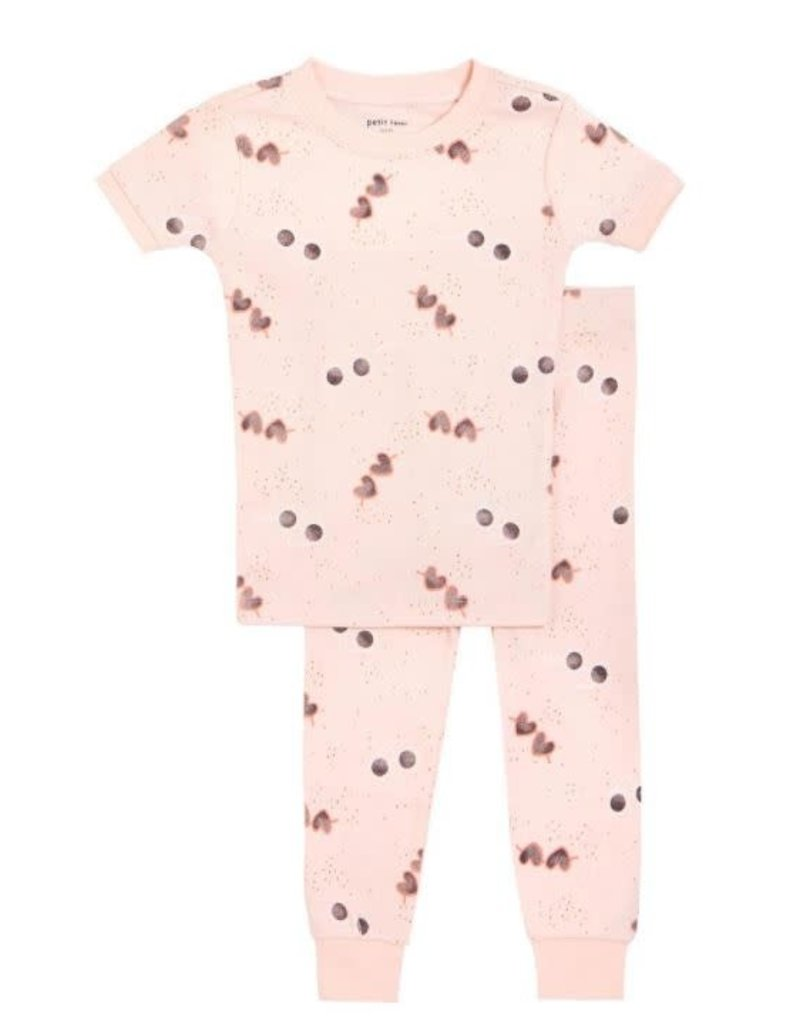 Petit Lem Sunglasses Short Sleeve PJ Set