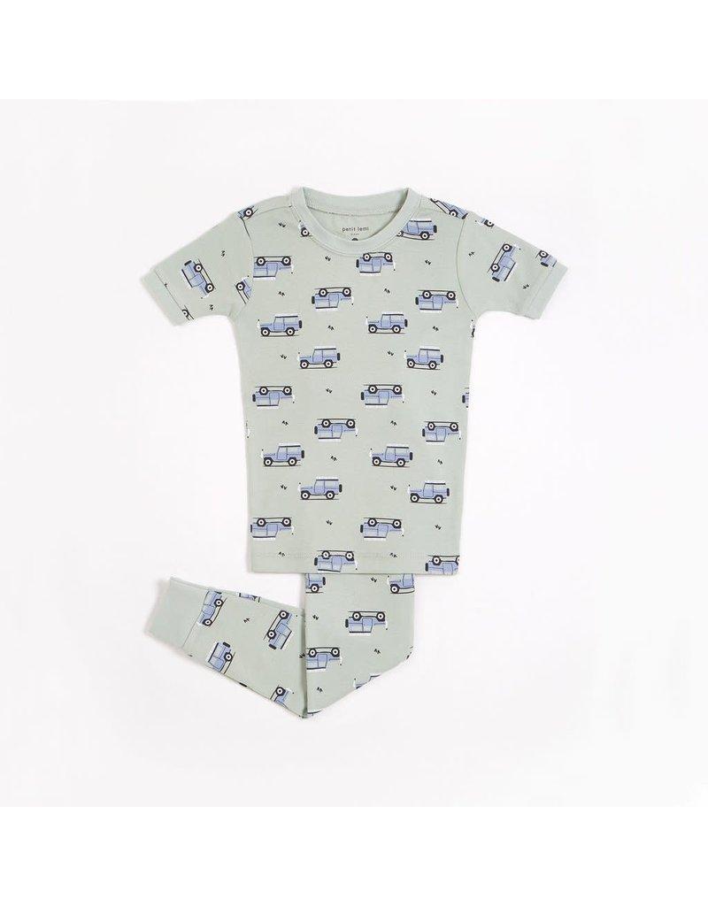 Petit Lem Jungle Cruiser Short Sleeve PJ Set
