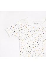 Petit Lem Terrazzo Print Short Sleeve PJ Set