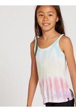 VOLCOM Big Girls Sure Burt Tie Dye Tank
