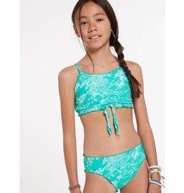VOLCOM Big Girls Island Hop Crop Set Swimsuit