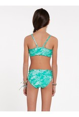 VOLCOM Big Girls Island Hop Crop Set Swimsuit