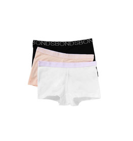 Bonds Girls Shortie Underwear 3pk