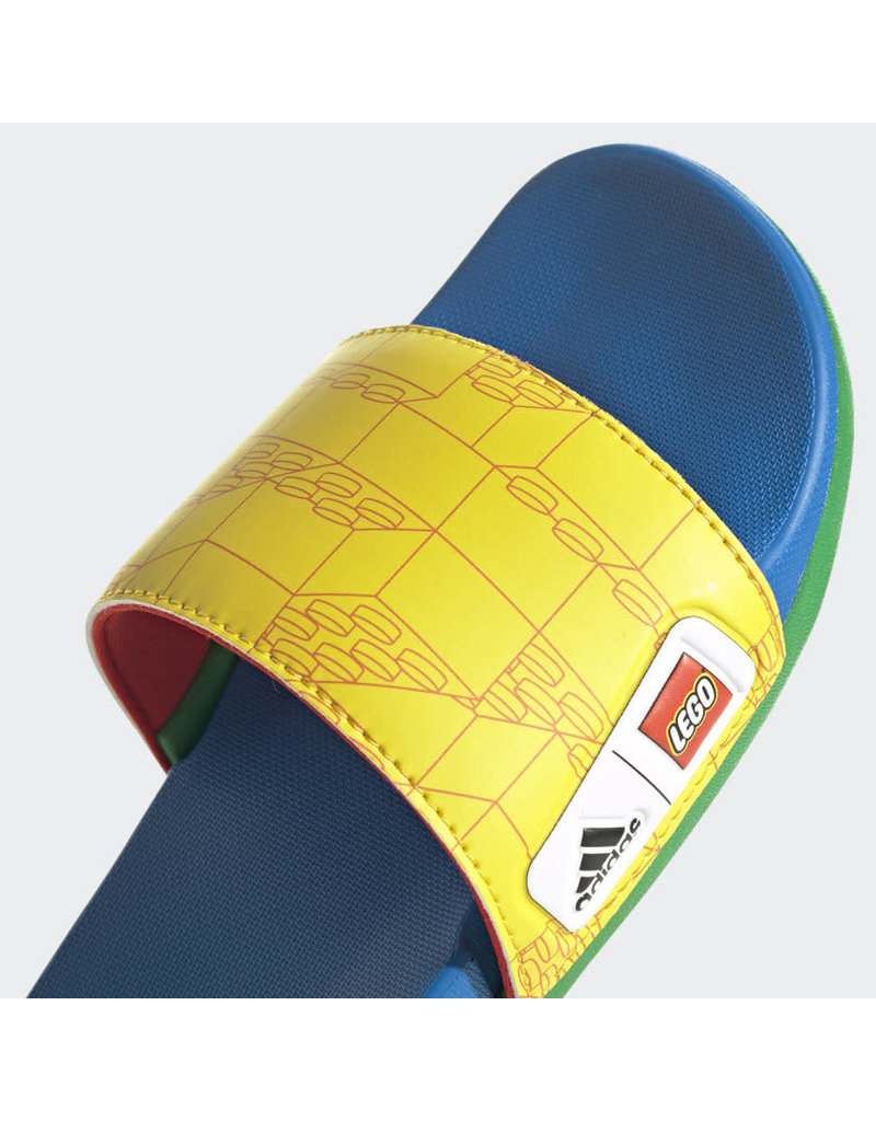 ADIDAS Kids Adilette Comfort x LEGO Slides