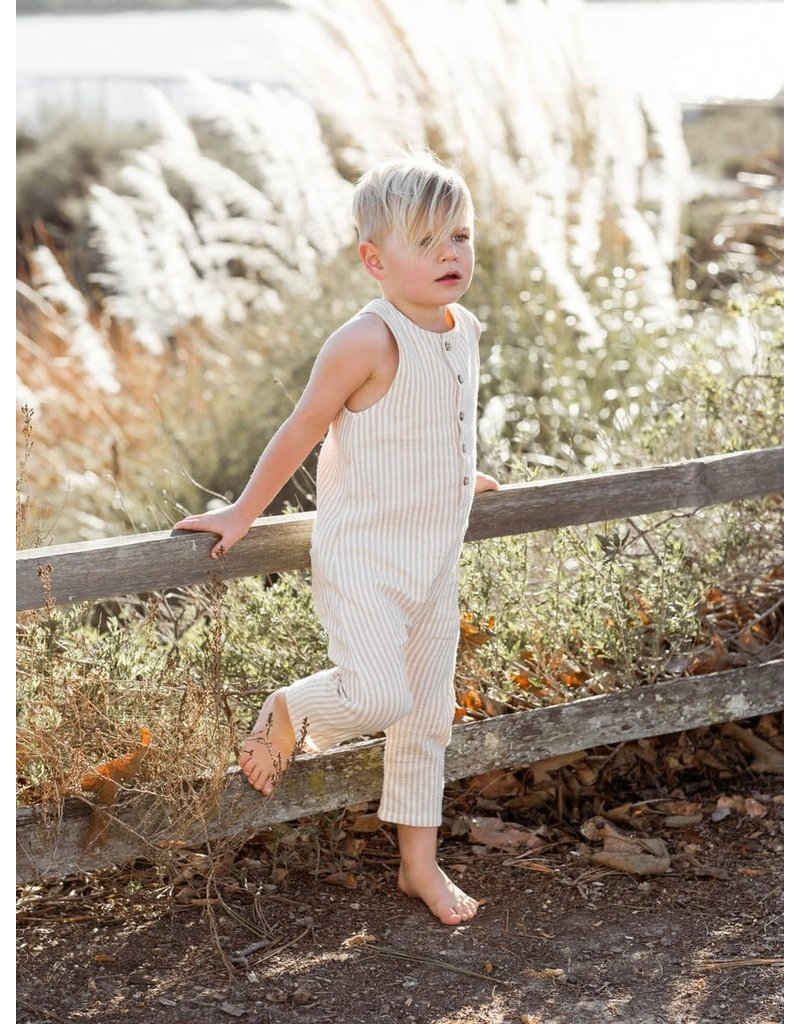 Rylee + Cru Button Jumpsuit