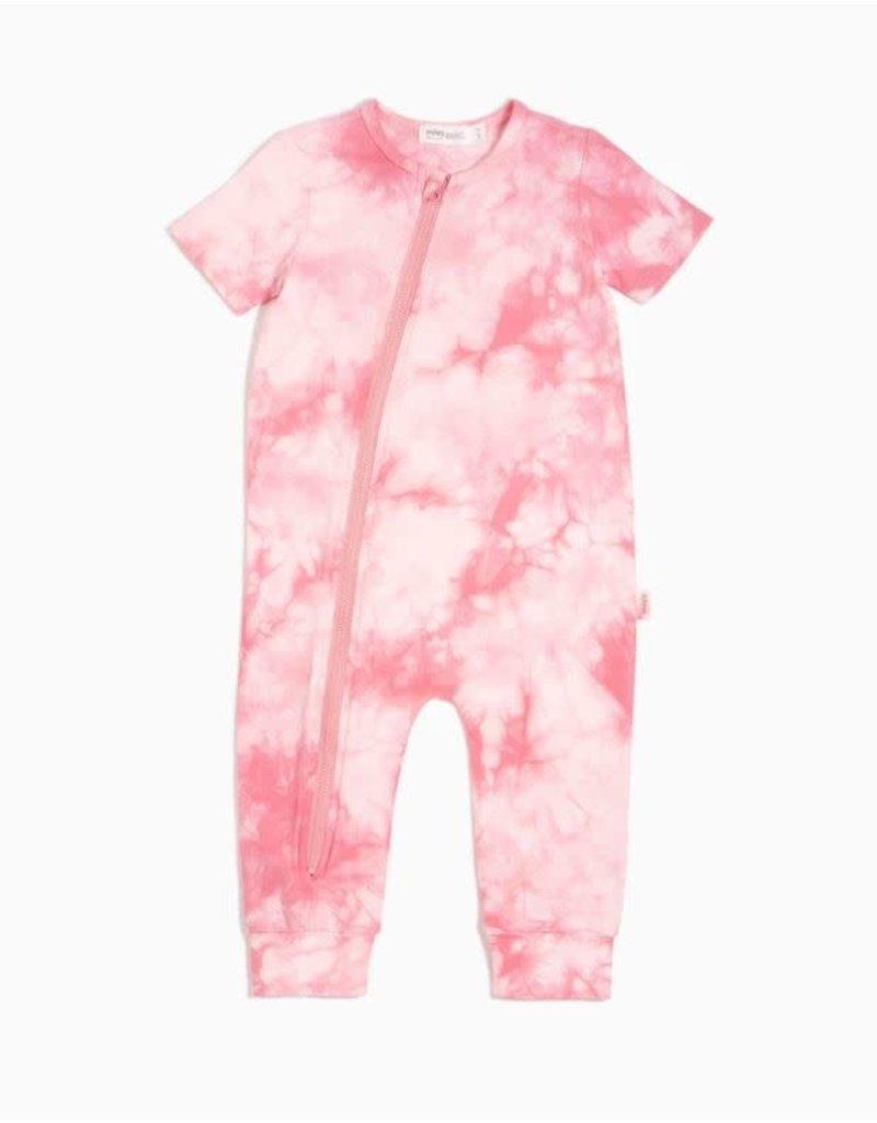 Miles Tie Dye Baby Zip Suit