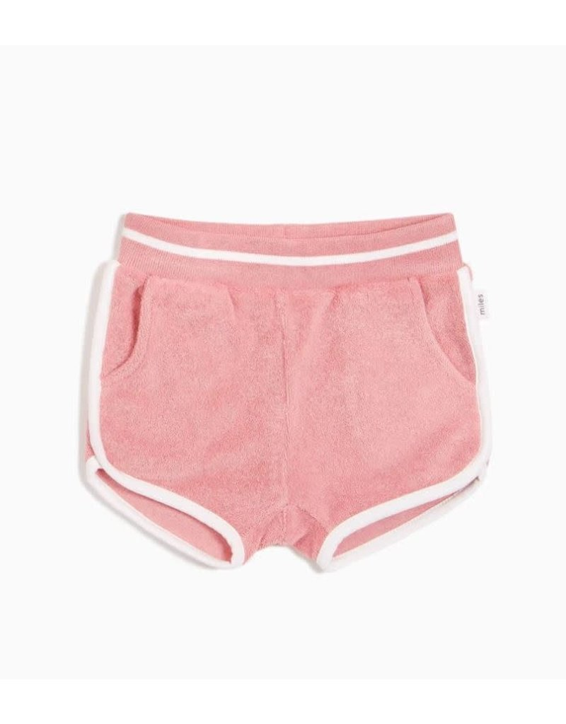 Miles Infant Terry Cloth Shorts