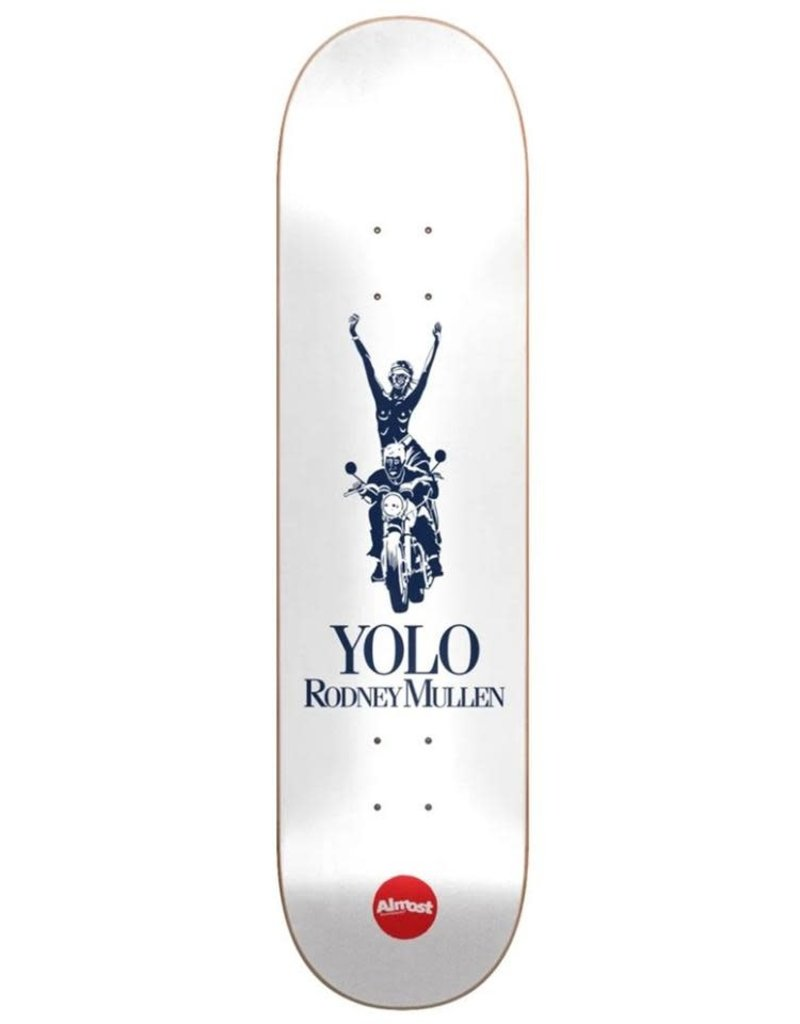 ALMOST SKATEBOARDING Mullen Runway R7 Deck