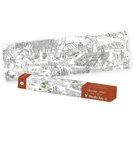 Moulin Roty Giant Colouring Posters
