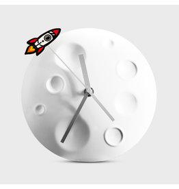 Suck UK Rocket Moon Clock