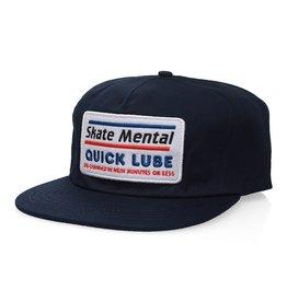 skate mental Quick Lube Snapback Hat