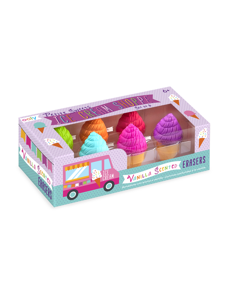 Ooly Petite Sweets Ice Cream Scented Erasers