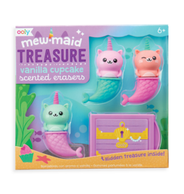 Ooly Mew-Maid Treasure Scented Erasers