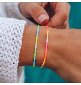 Pura Vida Bracelets Neon Ombre Seed Bead Bracelet