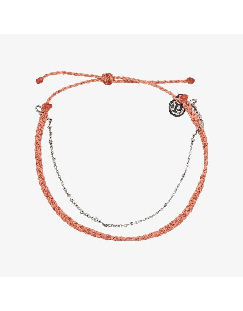 Pura Vida Bracelets Satellite Chain Anklet