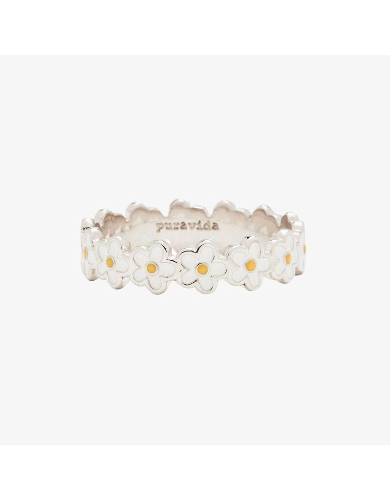 Pura Vida Bracelets Painted Blooms Ring