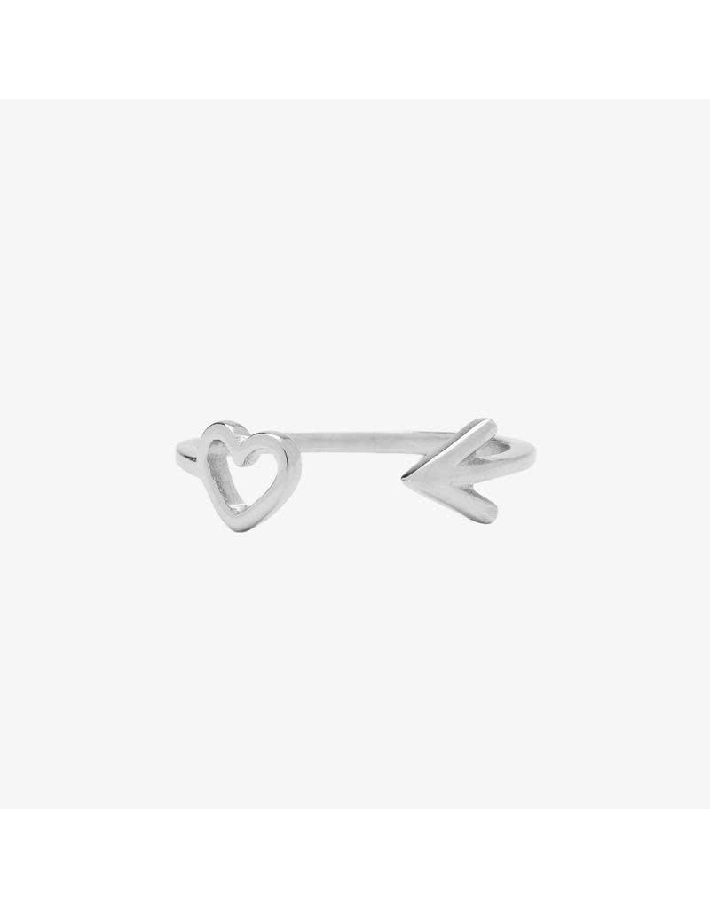 Pura Vida Bracelets Heart & Arrow Toe Ring