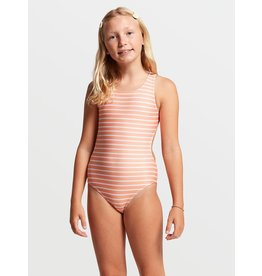 VOLCOM Big Girls In Line One Piece Swimsuit