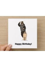 The Circle Happy Birthday Card - Lets Ride