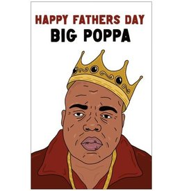 The Circle Big Poppa, Fathers Day Card