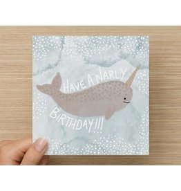 The Circle Narly Birthday card