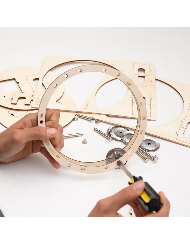 Kikkerland Designs DIY Tambourine