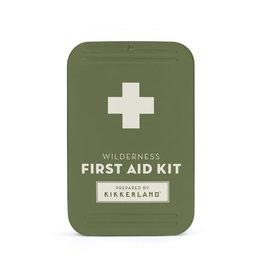 Kikkerland Designs Wilderness First Aid Kit