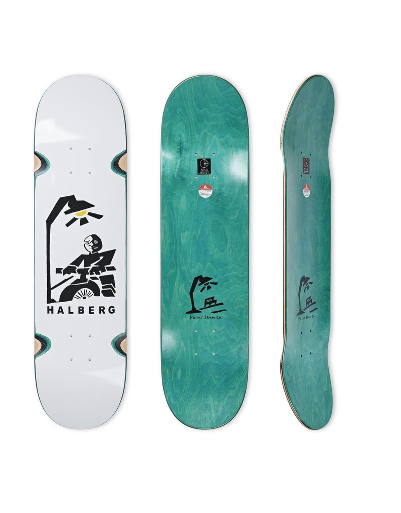 Polar Skate Co Hjalte Halberg Insomnia Deck