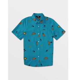 VOLCOM Big Boys Cheesy Street Shirt