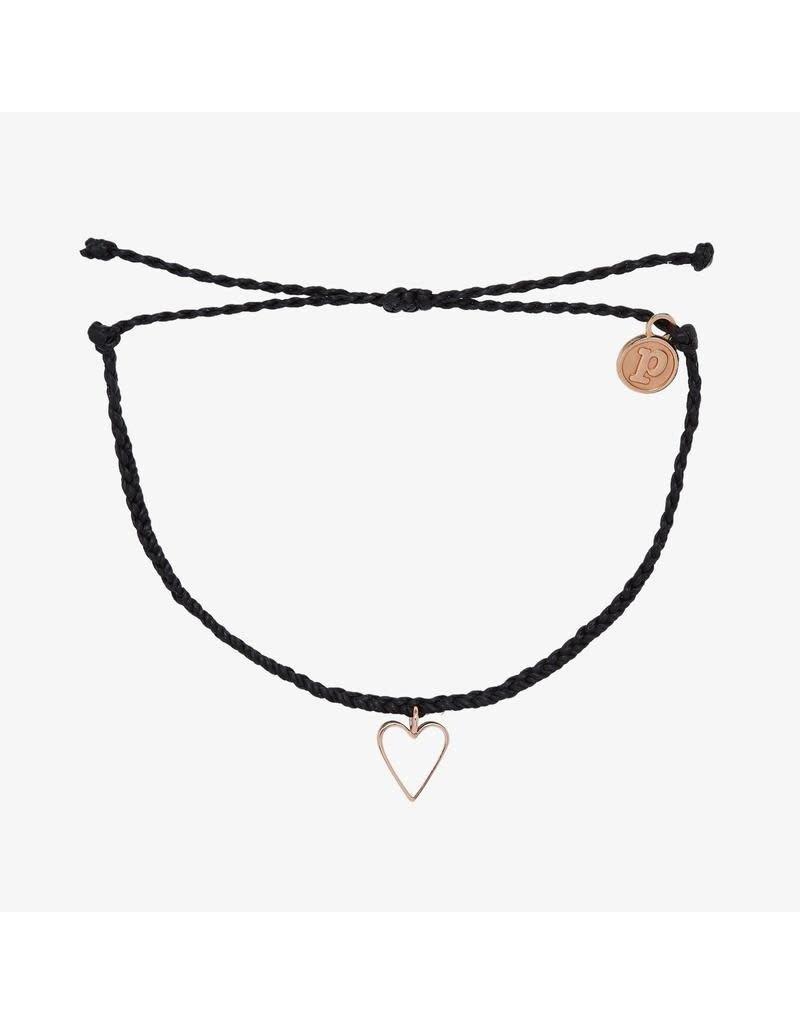 Pura Vida Bracelets Petite Heart Charm Bracelet