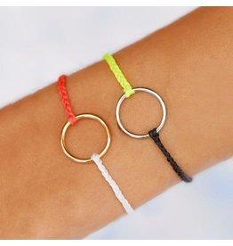 Pura Vida Bracelets Two Tone Full Circle Bracelet