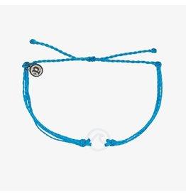 Pura Vida Bracelets White Wave Charm Bracelet